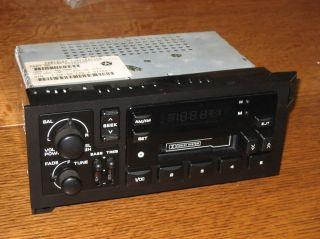 /NOS 1984 2000 Dodge RAM Jeep Cherokee Radio Cassette tape stereo OEM
