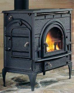 Used Fisher Wood Burning Stove Fireplace Insert