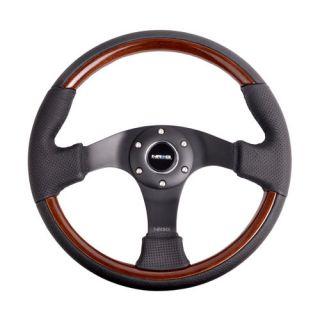 woodgrain steering wheel in Steering Wheels & Horns