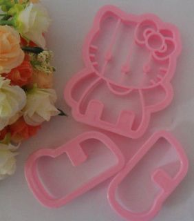 3PCS Hello Kitty mold baking cakes candy Almighty flowers forming