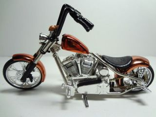 SUPER RARE JESSE JAMES WCC CHOPPERS MOTORCYCLE BARFLY BRONZE SCALE 1