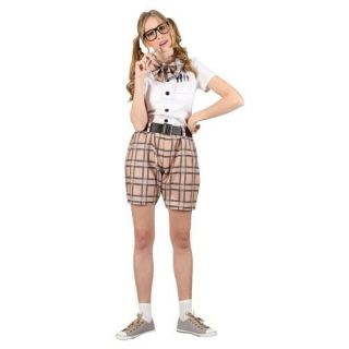 NERD school girl womans fancy dress costume outfit sexy ladies