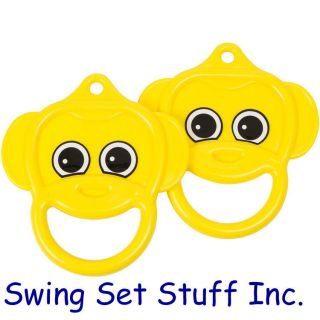TRAPEZE MONKEY RINGS PLAYGROUND SWING SET SEAT TOY CHILDREN OUTDOORS