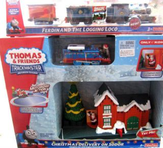 FERDINAND & THOMAS CHRISTMAS DELIVERY ON SODOR LIGHT & SOUND SET