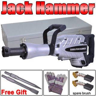 Jack Hammer Electric Double Insulated Concrete Breaker Chisels