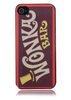 iPhone 5 Charlie & The Chocolate Factory Wonka Bar Design Hard Case