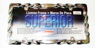 chrome license plate frame in Decals, Emblems, & Detailing