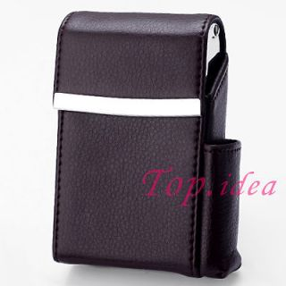 cigarette cases with lighter holder
