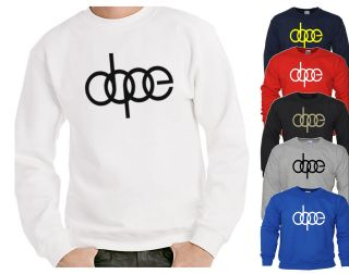 Dope Sweater Audi S3 S4 RS4 YMCMB OFWGKTA TAYLOR GANG Jumper Swag WILL