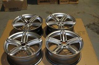 AUDI RS6/RS4/A4/A5/S4/S6/A6/Q5 Wheels 18x8.0 Rims with Central Caps