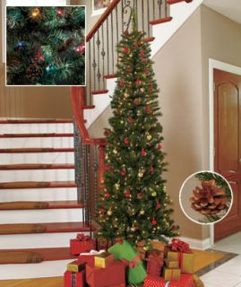 white pine artificial christmas tree