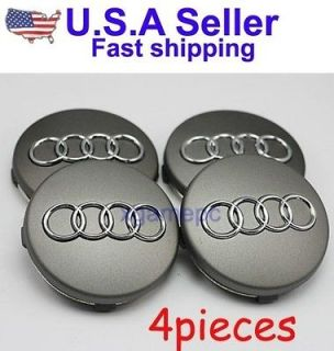 AUDI CENTER HUB CAP WHEEL A6 A4 TT A8 A3 A2 RS4 RS6 (Brand New) (A 60)