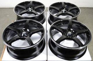 Rims Black Mercedes Benz Audi S4 S6 S8 C230 C280 A4 5 Lug Wheels