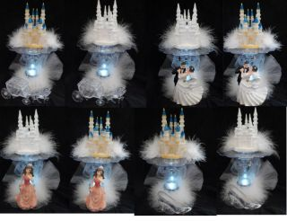 cinderella wedding cake toppers
