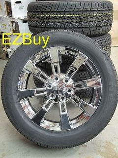 20 GMC CHEVROLET ESCALADE FACTORY STYLE CHROME WHEELS NEXEN TIRES