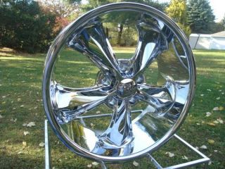 FOOSE LEGEND CHROME 5 ON 5 BP,, CHEVY GMC TRUCK CAPRICE IMPALA SALE