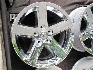 20 DODGE RAM 1500 FACTORY STYLE NEW CHROME CLAD WHEEL RIM 2364