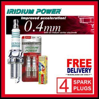 DENSO IRIDIUM POWER SPARK PLUGS CHEVROLET BERETTA 2.8 GTU 87 89 IT20
