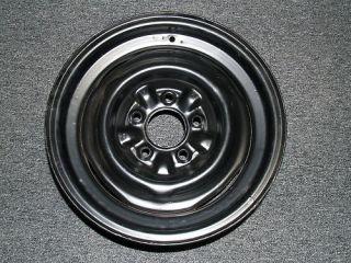 Original 65 66 Corvette 15x5.5 Steel wheel Kelsey Hayes 396 427