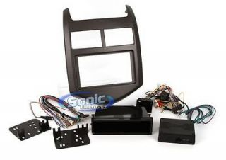 Metra 99 3012G 2012 Chevy Sonic Single/Double DIN Installation Dash