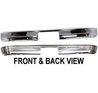New Bumper Rear Chrome Full Size Truck Suburban Chevy GMC GM1102287