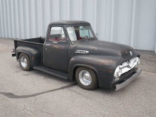 Ford  F 100 F100 Full Restoration of this 1954 Ford F 100 Hot Rod