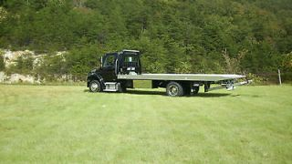 WRECKER ROLLBACK TOW TRUCK FREIGHTLINER M2 WITH DUAL TECH aluminum BED