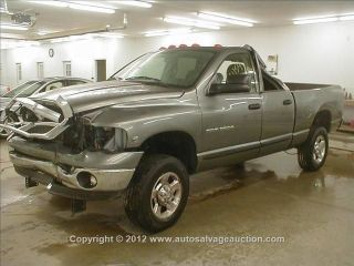 05 06 07 DODGE RAM 2500 PICKUP AUTOMATIC TRANSMISSION