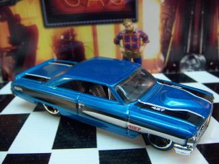 12 HOT WHEELS FORD CUSTOM 1964 GALAXIE 500 MINT LOOSE 164 SCALE
