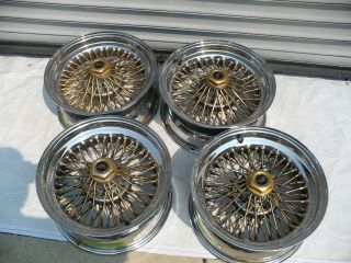 16x7 Ford Thunderbird, Mustang, ect. Wire Wheels by Dayton