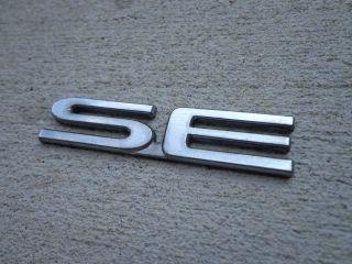 OEM Factory Genuine Stock Daewoo Nubira Lanos Matiz SE emblem badge