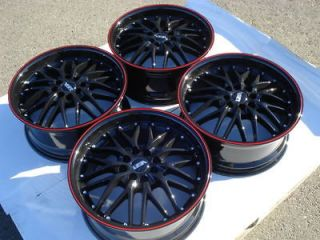 Scion xB xA Yaris Daewoo Lanos Spectra 4 Lug Racing Rims Wheels