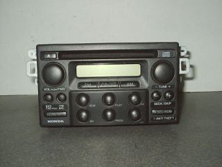 98 04 HONDA ACCORD ODYSSEY FACTORY CD PLAYER OEM JR196