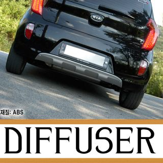 Bumper DIFFUSER Normal silver 1p For 11 12 Kia Picanto Morning