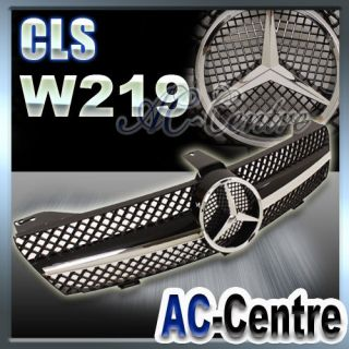 MERCEDES BENZ CLS CLASS W219 FRONT GRILL GRILLE CLS500 CLS550 AMG 05