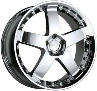 17 CHROME WHEELS RIMS MERCEDES BENZ W201 W124 W202 W203 W215 W210