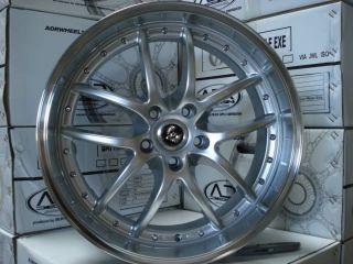 20 Staggered Black Wheel INFINITI G35 G37 S M35 M45 I30 Q45 J30 FX35