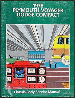 Van Repair Shop Manual Sportsman Tradesman Plymouth Voyager Motorhome