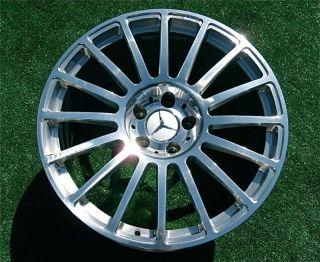 Genuine OEM Factory Mercedes Benz AMG CLK 63 BLACK SERIES WHEELS CLK63