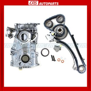 91 92 93 94 NISSAN 240SX KA24DE TIMING CHAIN KIT COVER OIL PUMP 2.4L
