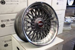 17x9 ET22 (4x100 4x114) Wheels Rims Civic 240sx 325i Miata Nissan