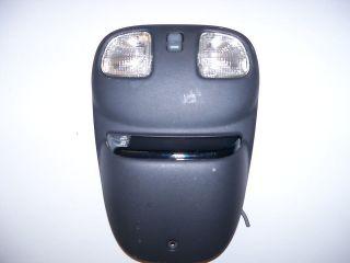 2002 CHEVY BLAZER S10 OVERHEAD CONSOLE BLACK