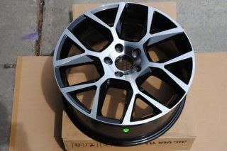 Wheels Rims Black Machine Finish Scion 05 10 TC 08 11 XD TRD Model