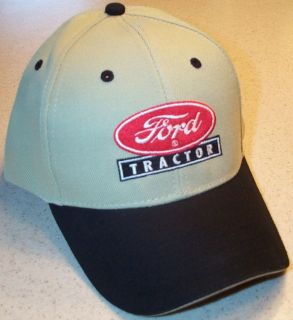 Ford Tractor Logo Embroidered Solid Hat (4 colors)