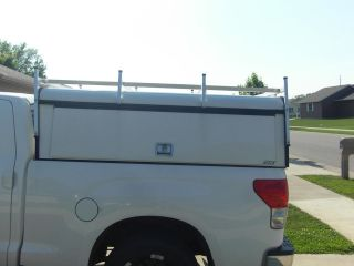 TOYOTA TUNDRA A.R.E. COMMERCIAL TRUCK TOPPER FOR CONTRACTING