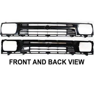 New Grille Assembly Black Toyota Pickup Truck 95 94 93 1995 TO1200127