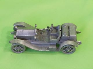 Vintage The Danbury Mint 1914 Stutz Bearcat Diecast Old Car Crafted In