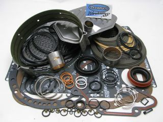 Ford 4R70W Deluxe Transmission Rebuild Kit 1998 03