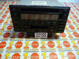 00 01 02 TOYOTA CELICA AM/FM RADIO CASSETTE & CD PLAYER 86120 2B680
