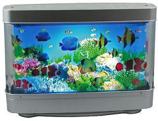 Aquarium Lamp With Swimming Fish Revolving Aquatic Scene Best Seller